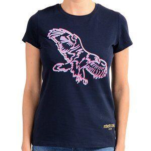 "Roberto Cavalli ""Sport"" Women's Blue T-Shirt"